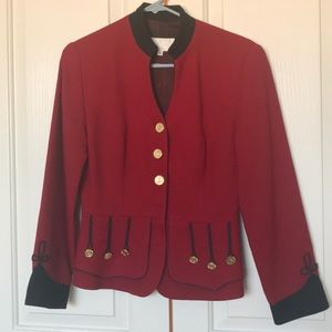 Cache red jacket size 4